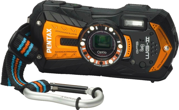 PENTAX Optio WG-2 GPS Rugged Digital Camera