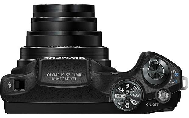 Olympus SZ-31MR iHS Digital Camera - Top