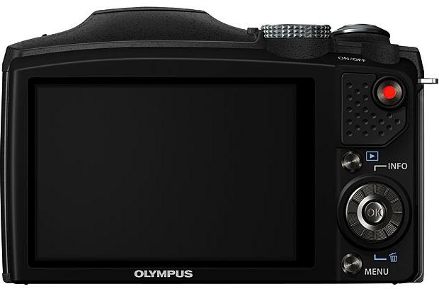 Olympus SZ-31MR iHS Digital Camera - Back