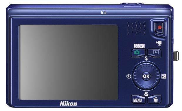 Nikon COOLPIX S6300 Digital Camera - Back
