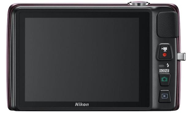 Nikon COOLPIX S4300 Digital Camera - Back