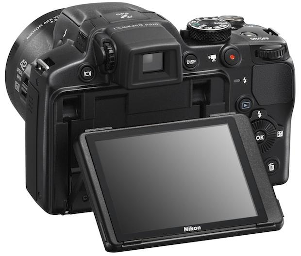 Nikon COOLPIX P510 Digital Camera - Back