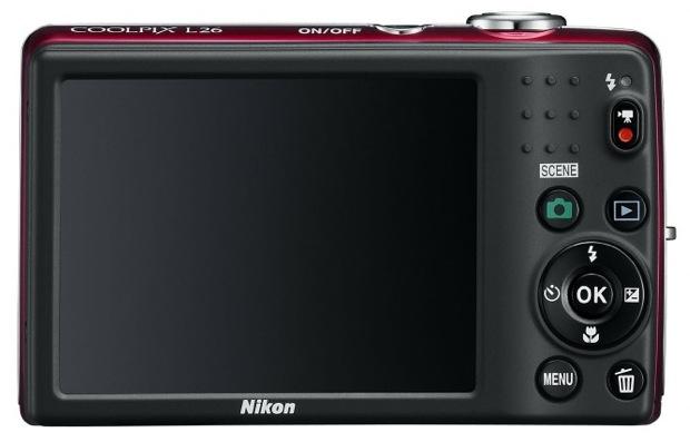Nikon COOLPIX L26 Digital Camera - Back