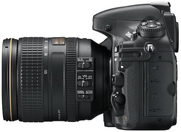 Nikon D800 HD-SLR Digital Camera - Left