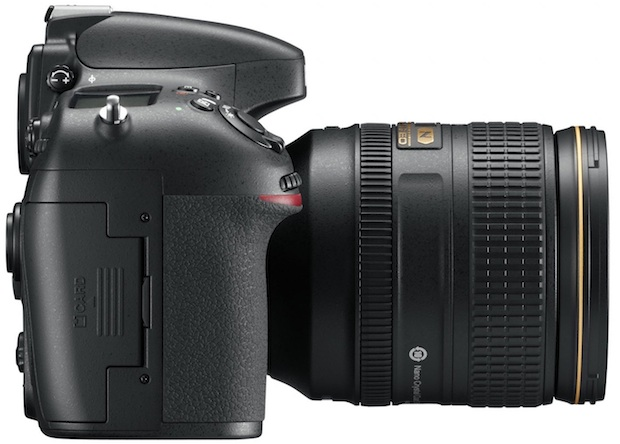 Nikon D800 HD-SLR Digital Camera - Right