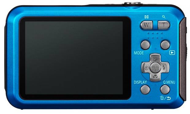 Panasonic LUMIX DMC-TS20 Digital Camera - Back