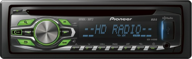 Pioneer DEH-4400HD Single-CD Car Receiver