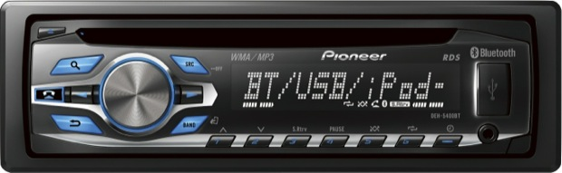 Pioneer DEH-5400BT Single-CD Car Receiver