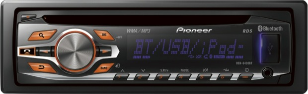 Pioneer DEH-P6400BT Single-CD Car Receiver