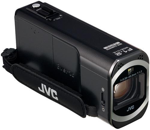 JVC Everio GZ-VX700 Wi-Fi Camcorder