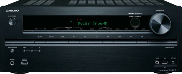 Onkyo TX-NR515 7.2-Channel Network Receiver - Front
