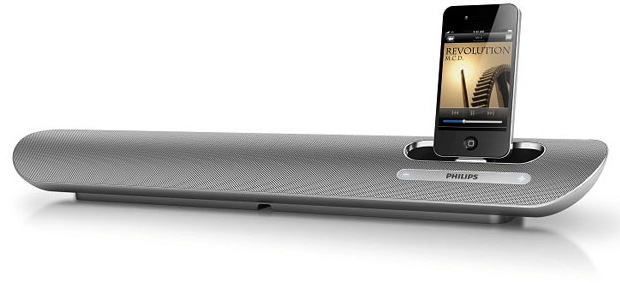 Philips DS6100 Computer Docking Speaker for iPod / iPhone