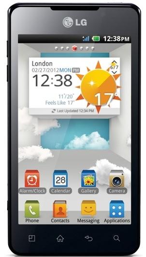 LG Optimus 3D Max Smartphone