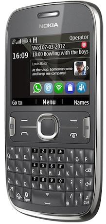 Nokia Asha 302 Smartphone