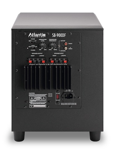 Atlantic Technology SB-900DF Subwoofer - Back