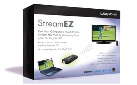 Warpia StreamEZ Box