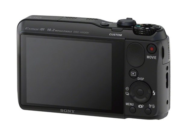 Sony DSC-HX30V Cyber-shot Digital Camera - Back
