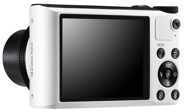 Samsung WB150F SMART Digital Camera - back