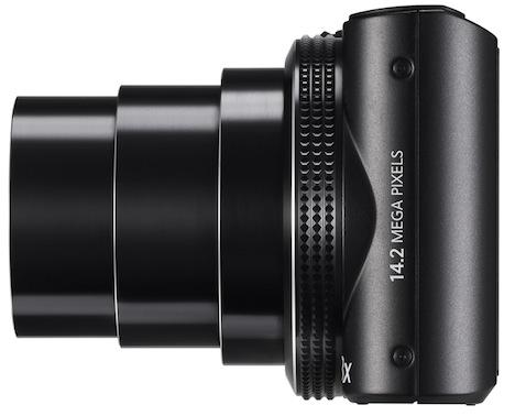 Samsung WB150F SMART Digital Camera - side