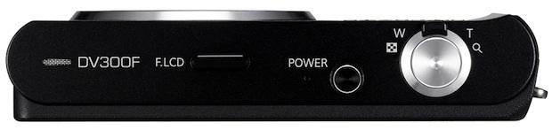 Samsung DV300F DualView SMART Digital Camera - top