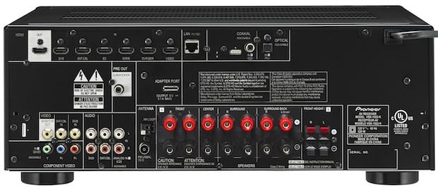 Pioneer VSX-1022 A/V Receiver - Back
