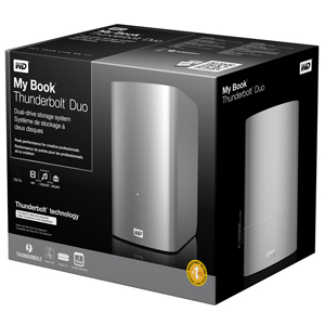 WD My Book Thunderbolt Duo External Hard Drive - Box