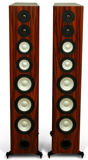 Axiom Audio Omnidirectional Field Radiating Loudspeakers without grilles