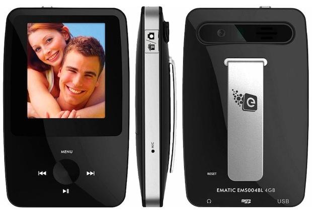 Ematic eSport Clip 4GB MP3 Player
