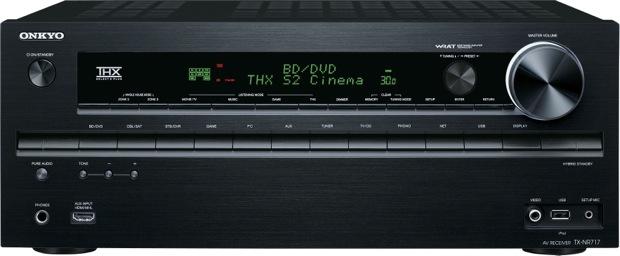 Onkyo TX-NR717 A/V Receiver - front