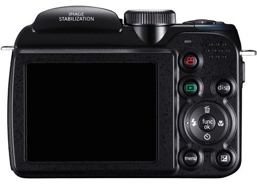 GE X400 Power PRO Digital Camera - Back
