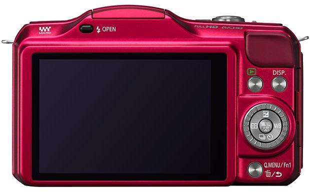 Panasonic DMC-GF5 Lumix Interchangeable Lens Digital Camera - Back