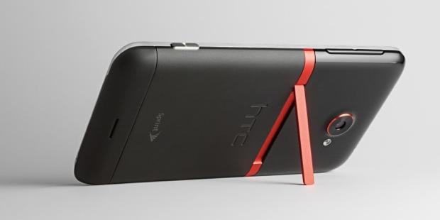 HTC EVO 4G LTE Smartphone - back with kickstand