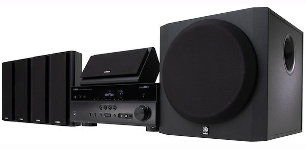 Yamaha YHT-797BL Home Theater in a Box