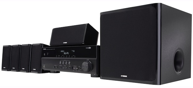 Yamaha YHT-497BL Home Theater in a Box