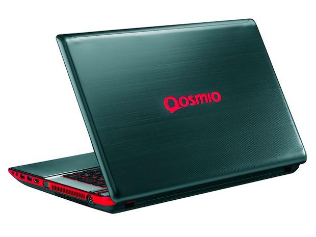 Toshiba Qosmio X875 / 3D Gaming Laptops