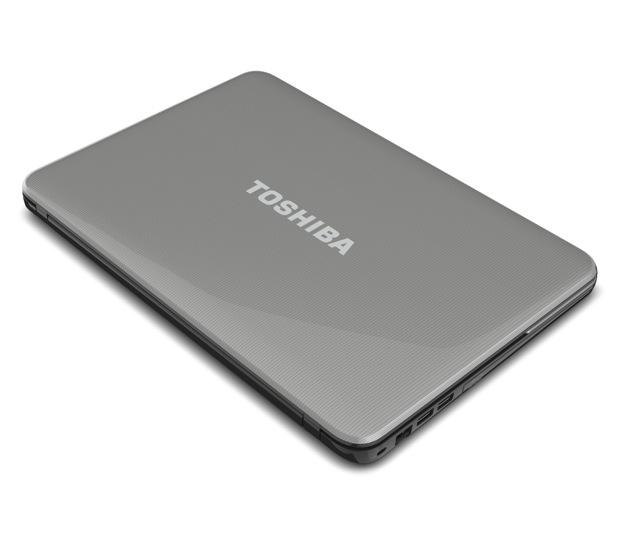 Toshiba Satellite L800 Series Laptop - Top