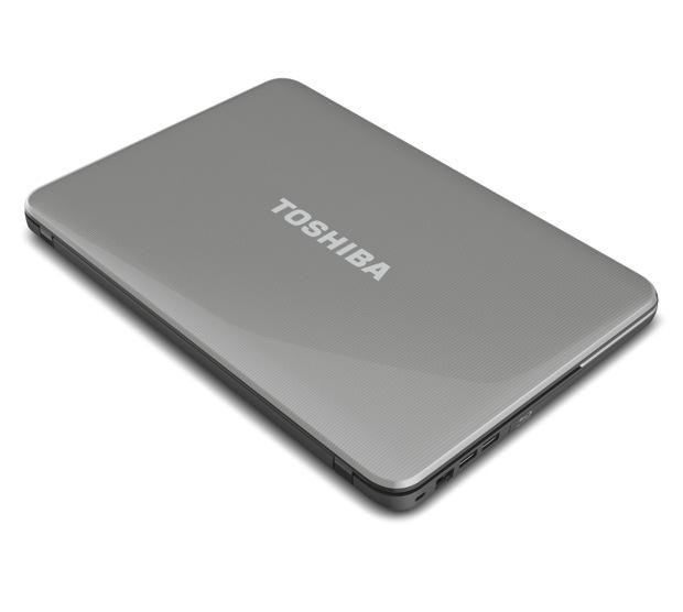 Toshiba Satellite C800 Series Laptop - Top