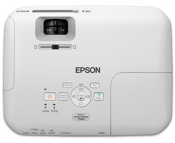 Epson PowerLite Home Cinema 710HD LCD Projector