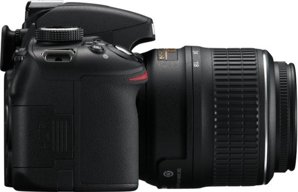 Nikon D3200 Digital SLR Camera - side right