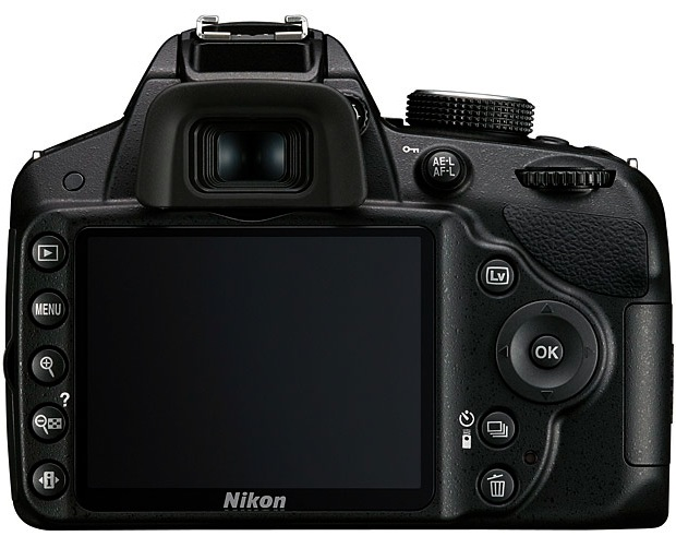 Nikon D3200 Digital SLR Camera - back
