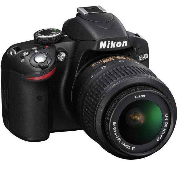 Nikon D3200 Digital SLR Camera - front