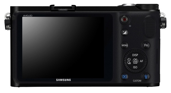 Samsung NX210 Interchangeable Lens Digital Camera - Back