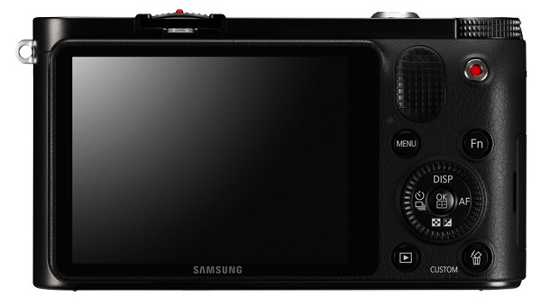 Samsung NX1000 Interchangeable Lens Wi-Fi Digital Camera - Back
