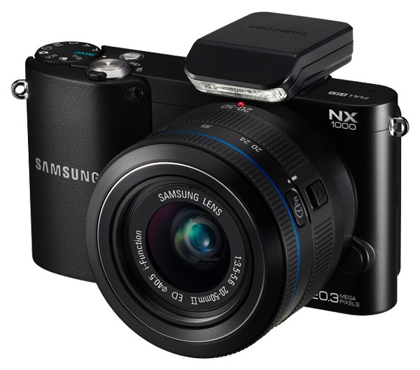 Samsung NX1000 Interchangeable Lens Wi-Fi Digital Camera - Black