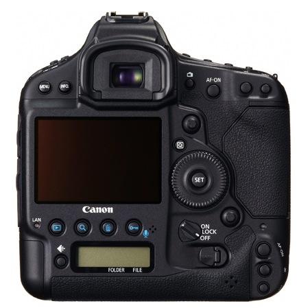 Canon EOS-1D C Digital SLR Camera - Back