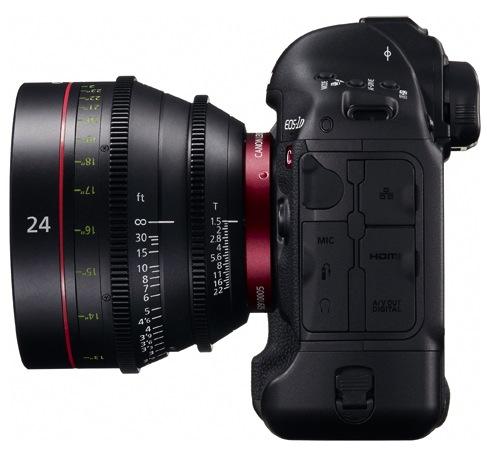 Canon EOS-1D C Digital SLR Camera - Side
