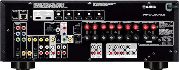 Yamaha RX-V773WA A/V Receiver - Back
