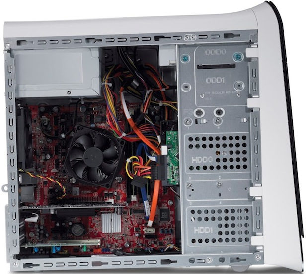 Dell XPS 8500 Desktop PC - Side Open