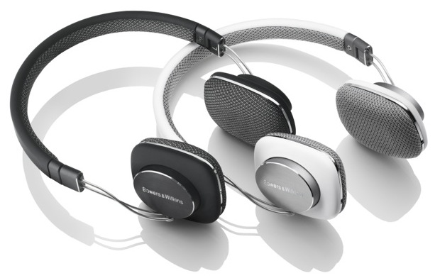 Bowers & Wilkins P3 Headphones - white and black