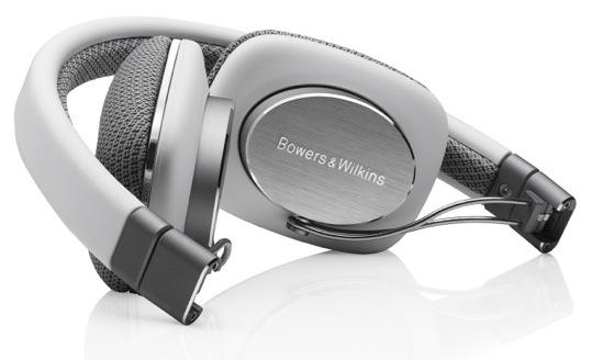 Bowers & Wilkins P3 Headphones - folded